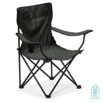 Strandstoel goedkoop bedrukken zwart opvouwbaar lichtgewicht