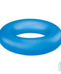 Opblaasbare PVC zwemband bedrukken goedkoop blauw
