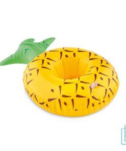 Opblaasbare ananas bekerhouder bedrukt goedkoop