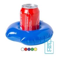 Opblaasbare bekerhouder zwemband bedrukken met logo goedkoop