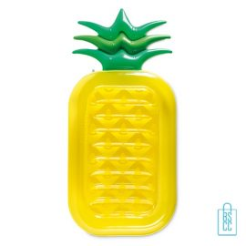 Opblaasbare luchtbed ananas bedrukt goedkoop