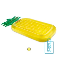 Opblaasbare luchtbed ananas bedrukt goedkoopste