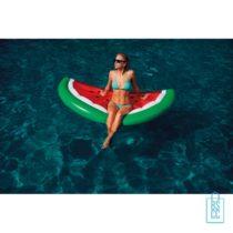 Opblaasbare luchtbed watermeloen bedrukt met logo