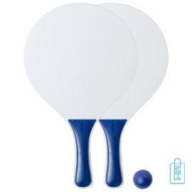 Strand tennisset goedkoop bedrukken blauwe