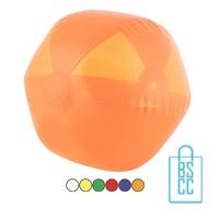 Strandbal transparant ø 26 cm bedrukken goedkoop