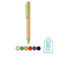 Bamboe pen bedrukken goedkoop milieuvriendelijk