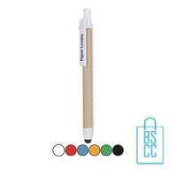 Recycle touch pen bedrukken goedkoop