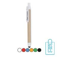 Recycle touch pen bedrukken goedkoop