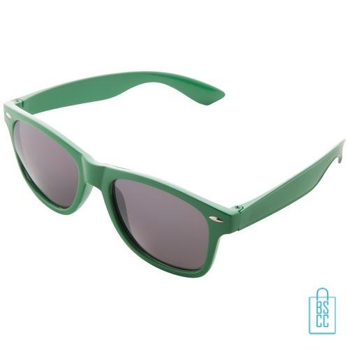 Zonnebril doming goedkoop bedrukt groene
