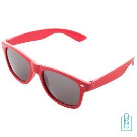 Zonnebril doming goedkoop bedrukt rode