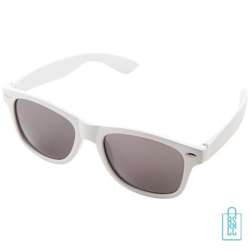 Zonnebril doming goedkoop bedrukt witte