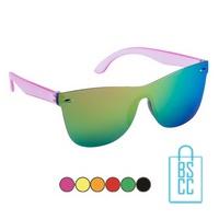 Zonnebril frameloos hip glanzend bedrukken goedkoop