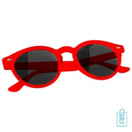 Zonnebril transparant bedrukken goedkoop rood