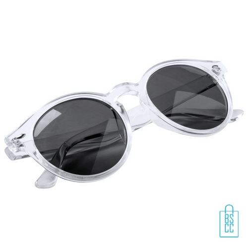Zonnebril transparant bedrukken goedkoop trans