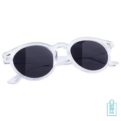 Zonnebril transparant bedrukken goedkoop transparant