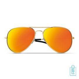 Zonnebril zakje inclusief bedrukken goedkoop zomergeschenk