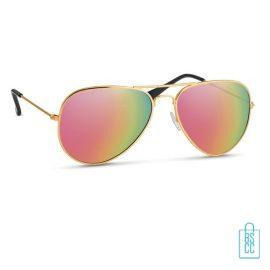 Zonnebril zakje inclusief bedrukken kleur