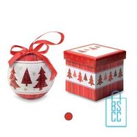Kerstbal geschenk kerstboom bedrukken