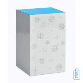 Kerstbeker dubbelwandig bedrukken kerstgeschenk verpakking