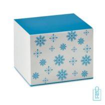 Kerstbeker klassiek bedrukt verpakking
