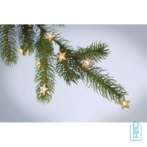 Kerstboom stervormige lichtjes bedrukt kerstlampjes voor in boom