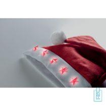 Kerstmuts LED bedrukken goedkoopste
