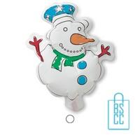 Kleurplaat sneeuwpop kinderen bedrukken x-mas