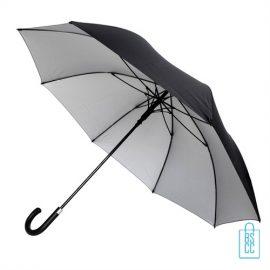 Golfparaplu GP-68 zwart zilver, paraplu goedkoop