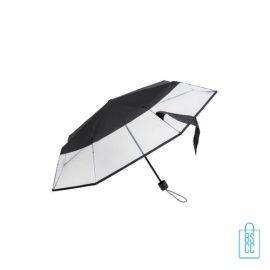 Opvouwbare paraplu LF-140 assorti zwart, paraplu goedkoop bedrukken