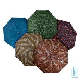 Opvouwbare paraplu LGF-407 Assorti prints open