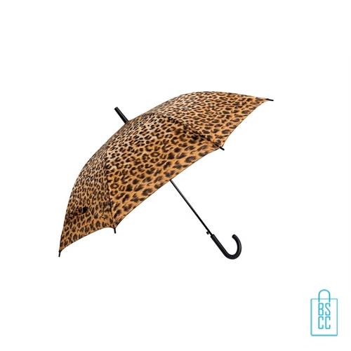 Paraplu bedrukken GA-309 ASS dierenprint panter