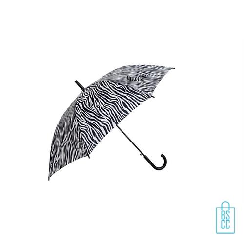 Paraplu bedrukken GA-309 ASS dierenprint zebra