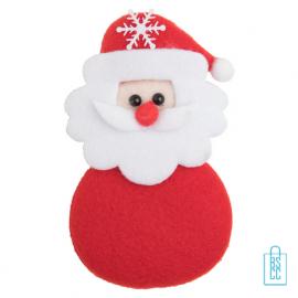 Koelkastmagneet kerst bedrukken kerstman, kerstgeschenken bedrukt