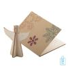 Papieren kerstkaart op maat creatief kerst engel, kerstgeschenken bedrukt