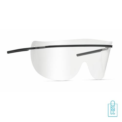 Anti-spat bril PET corona, corona bril goedkoop
