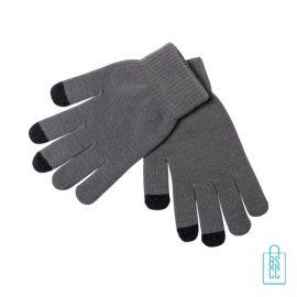 Antibacteriële handschoenen touchscreen bedrukt, corona relatiegeschenken