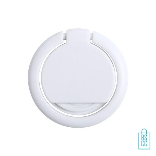 Antibacteriële mobiele telefoonhouder ring bedrukken met logo, antibacteriële relatiegeschenken