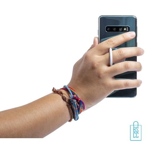 Antibacteriële mobiele telefoonhouder ring bedrukt reclame, antibacteriële relatiegeschenken