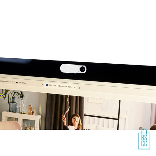 Antibacteriële webcamblocker bedrukt laptop, corona bescherm artikelen