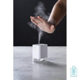 Automatische desinfectie spray dispencer bedrukken goedkoop, corona bescherm artikelen