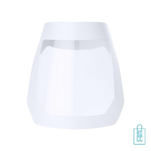 Corona bescherm masker goedkoop bedrukken wit, corona bescherm artikelen