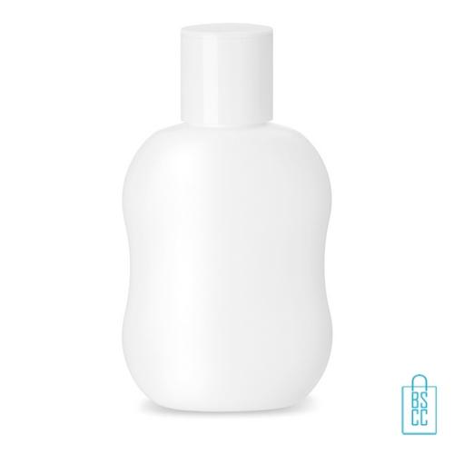 Desinfectie hand 70% alc. 100 ml bedrukte, desinfectie artikelen goedkoop