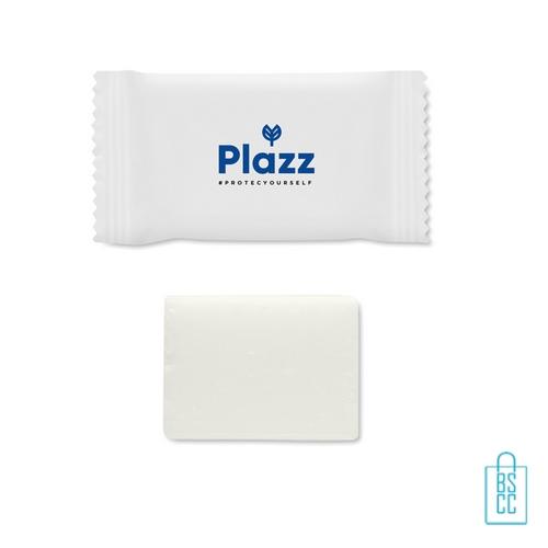 Hotel zeepje bedrukken met logo, zeep bedrukken