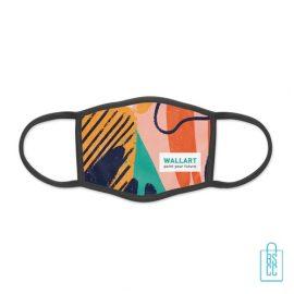 Mondkapje herbruikbaar polyester L-XL bedrukken eigen ontwerp, gezichtsmaskers goedkoop