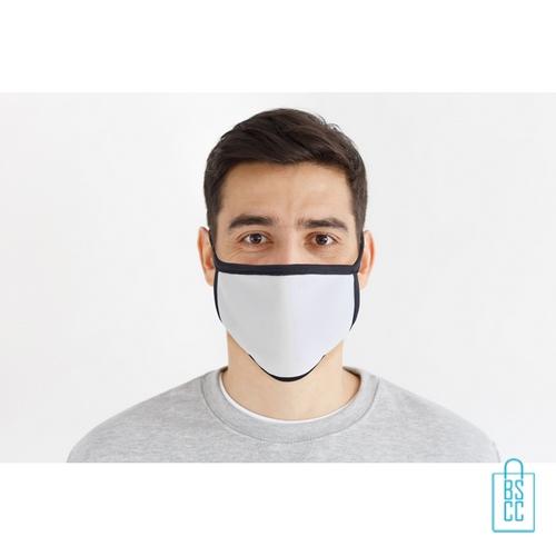 Mondkapje herbruikbaar polyester L-XL bedrukken onbedrukt, gezichtsmaskers goedkoop