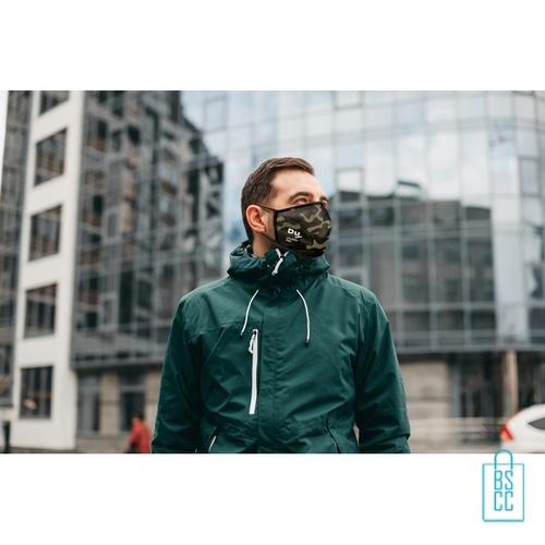 Mondkapje herbruikbaar polyester L-XL bedrukken uniek, gezichtsmaskers goedkoop