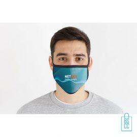 Mondkapje herbruikbaar polyester L-XL bedrukken vb, gezichtsmaskers goedkoop