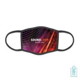 Mondkapje herbruikbaar polyester L-XL bedrukken zelf design, gezichtsmaskers goedkoop