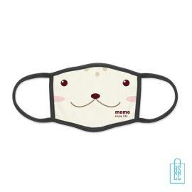 Mondkapje herbruikbaar polyester S-M bedrukken goedkoop, gezichtsmaskers goedkoop