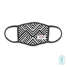 Mondkapje herbruikbaar polyester S-M bedrukken maak je eigen mondkapje